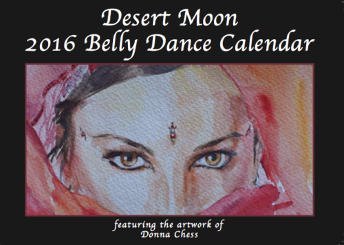 2016 Belly Dance Calendar