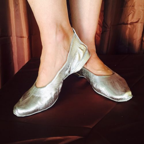Jiffy shoes with heel