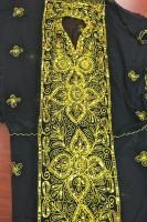 Black 'Oriental' Pattern