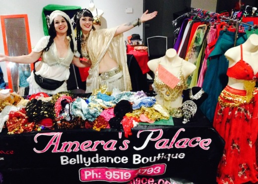 Ali & Cristie at Newcastle Bellydance Festival