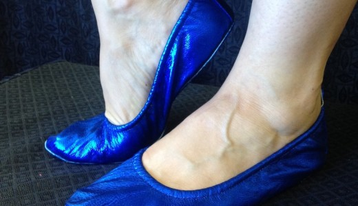 blue belly dance shoes