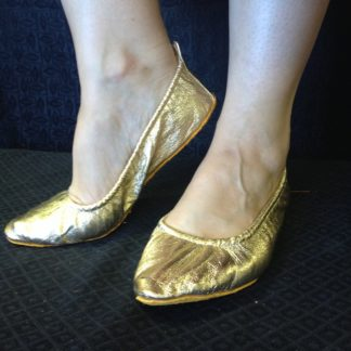 gold belly dance shoes