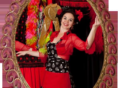 burlesque costume hire
