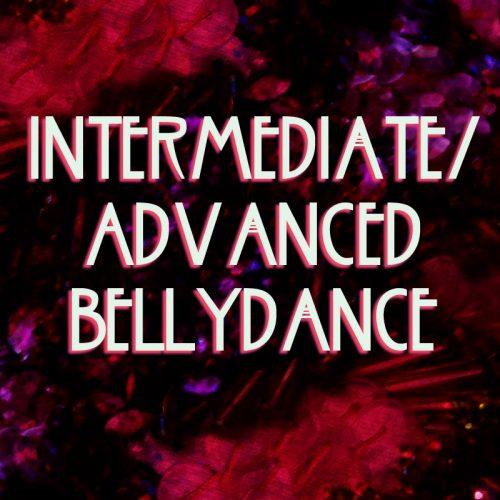 intermediate advance bellydance dark pink