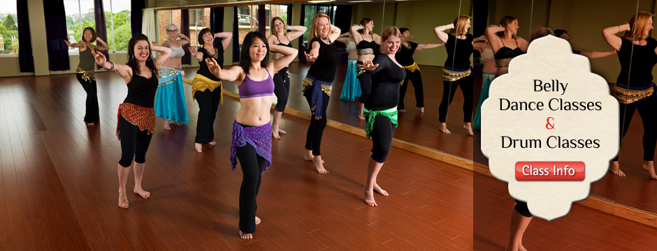 Belly Dance and Drum Classes
